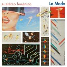 Discos de vinilo: LP LA MODE EL ETERNO FEMENINO VINILO ROJO MOVIDA. Lote 221694665