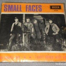 Discos de vinilo: SMALL FACES MY MIND'S EYE SINGLE VINILO DECCA 1966 MUY BUEN ESTADO. Lote 221696408