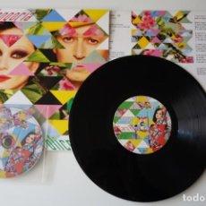 "Discos de vinilo: FANGORIA: POLICROMÍA. MAXISINGLE 10"" VINILO + CD. NUEVO. Lote 221698356"