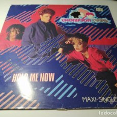 Discos de vinilo: MAXI - THOMPSON TWINS ?– HOLD ME NOW - F-601085 ( VG+ / VG+) SPAIN 1983. Lote 221700221