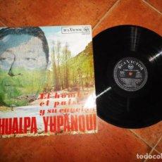 Discos de vinilo: ATAHUALPA YUPANQUI EL HOMBRE EL PAISAJE Y SU CANCION LP VINILO 1988 ESPAÑA RCA CONTIENE 12 TEMAS. Lote 221700412