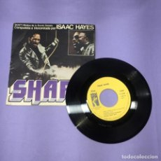 Discos de vinilo: SINGLE ISAAC HAYES -- SHAFT-- VG. Lote 221700800