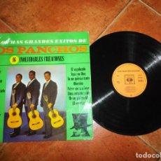 Discos de vinilo: LOS PANCHOS LOS MAS GRANDES EXITOS DE LOS PANCHOS LP VINILO 1964 ESPAÑA CBS CONTIENE 16 TEMAS. Lote 221701040