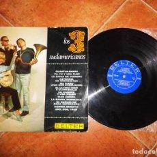 Discos de vinilo: LOS 3 SUDAMERICANOS GUANTANAMERA LP VINILO 1967 ESPAÑA BELTER CONTIENE 12 TEMAS. Lote 221702111