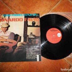Discos de vinilo: LEONARDO FAVIO ERA..COMO PODRIA EXPLICAR...Y ES LP VINILO 1974 ESPAÑA DISCOPHON CONTIENE 12 TEMAS. Lote 221703797
