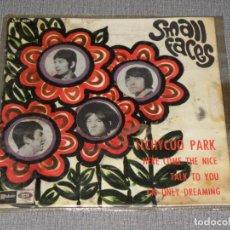 Discos de vinilo: SMALL FACES - ITCHYCOO PARK / HERE COME THE NICE + 2 - EDICION ESPAÑOLA EMI 1967. Lote 221704583