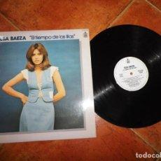 Discos de vinilo: ELSA BAEZA EL TIEMPO DE LAS LILAS LP VINILO 1978 ESPAÑA HISPAVOX CONTIENE 12 TEMAS. Lote 221705123