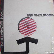 Discos de vinilo: LP-NOTAS Y MUSICA VIII (CBC RADIO CANADA) - ROSSINI/FIALA/DEBUSSY/BARTOK (VER FOTOS ADJUNTAS). Lote 221707281
