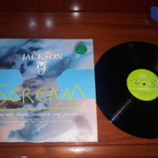 "Discos de vinilo: MICHAEL JACKSON AND JANET JACKSON- SCREAM MAXI SINGLE 12""- HOLANDES. Lote 221707996"