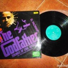 Discos de vinilo: THE GODFATHER EL PADRINO THE FILM STUDIO ORCHESTRA LP VINILO 1972 ESPAÑA ZAFIRO CONTIENE 14 TEMAS. Lote 221708767
