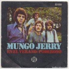 Discos de vinilo: MUNDO JERRY / EN EL VERANO /PODEROSO. Lote 221711998