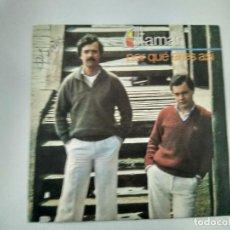 Discos de vinilo: SINGLE PROMOCIONAL ALTAMAR. POR QUE ERES ASI. EPIC 1980. BUEN ESTADO.. Lote 221712262