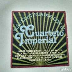 Discos de vinilo: SINGLE CUARTETO IMPERIAL. . CBS 1981. BUEN ESTADO.. Lote 221712635