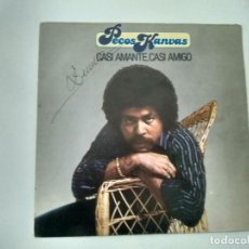 Discos de vinilo: SINGLE PECOS KANVAS. CASI AMANTE, CASI AMIGO. MOVIEPLAY 1981. BUEN ESTADO.. Lote 221713026