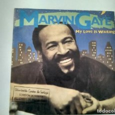 Discos de vinilo: SINGLE PROMOCIONAL MARVIN GAYE. MY LOVE IS WAITING. CBS 1982. BUEN ESTADO.. Lote 221714367