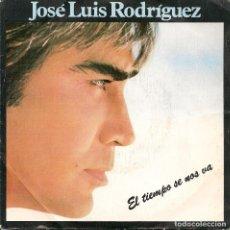 Discos de vinilo: JOSE LUIS RODRIGUEZ,EL TIEMPO SE NOS VA DEL 84. Lote 221714733