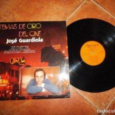Discos de vinilo: JOSE GUARDIOLA TEMAS DE ORO DEL CINE LP VINILO 1974 ESPAÑA OLYMPO CONTIENE 12 TEMAS. Lote 221714796