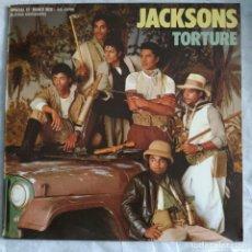 """Discos de vinilo: THE JACKSONS - TORTURE (12"""", MAXI) (EPIC) EPC A 12.4675 (1984/ES). Lote 221715120"""