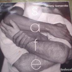 Discos de vinilo: JIMMY SOMERVILLE SAFE. Lote 221715420