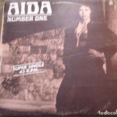 Discos de vinilo: AIDA NUMBER ONE. Lote 221717442