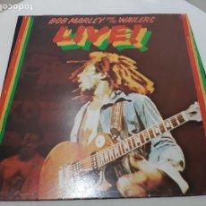 Discos de vinilo: BOB MARLEY AND THE WAILERS -LIVE!- LP DISCO VINILO. Lote 221720750