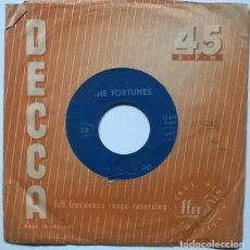 Discos de vinilo: THE FORTUNES. YOU'VE GOT YOUR TROUBLES/ I'VE GOT TO GO. DECCA, FRANCE 1965 SINGLE. Lote 221724941