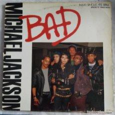 """Discos de vinilo: MICHAEL JACKSON - BAD (12"""") (1987,ES). Lote 221725018"""