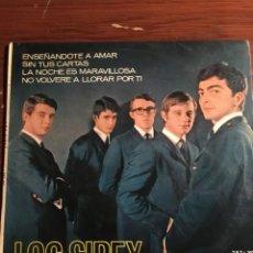 Discos de vinilo: EP LOS SIREX (ENSEÑANDOTE A AMAR/SIN TUR CARTAS/LA NOCHE ES MARAVILLOSA/NO VOLVERE A LLORAR POR TI). Lote 221725902