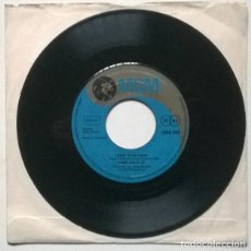 Discos de vinilo: SAMMY DAVIS JR. THE CANDY MAN/ I WANT TO BE HAPPY. MGM, GERMANY 1971 SINGLE. Lote 221726392
