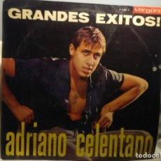 Discos de vinilo: LP ADRIANO CELENTANO : GRANDES EXITOS ( 2 TEMAS EN ESPAÑOL). Lote 221728786