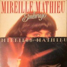 """Discos de vinilo: LOTE 2 LP'S MIREILLE MATHIEU """"EMBRUJO & SENTIMENTALMENT VOTRE"""". Lote 221729340"""