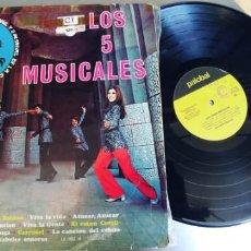 Discos de vinilo: LOS 5 MUSICALES-LP. Lote 221731021