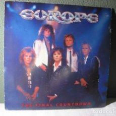 Discos de vinilo: EUROPE , THE FINAL COUNTDOWN. Lote 221731307
