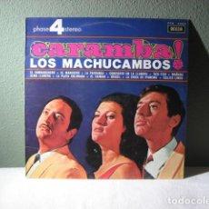 Discos de vinilo: LOS MACHUCAMBOS, CARAMBA. Lote 221731620