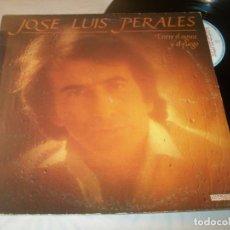 Discos de vinilo: JOSE LUIS PERALES - ENTRE EL AGUA Y EL FUEGO ..LP - HISPAVOX 1982. Lote 221732036