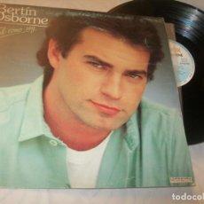 Discos de vinilo: BERTÍN OSBORNE - TAL COMO SOY... LP DE HISPAVOX - 1984- BUEN ESTADO. Lote 221732102
