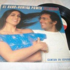 Discos de vinilo: AL BANO Y ROMINA POWER - FELICIDAD ( CANTAN EN ESPAÑOL ) - LP 1982. Lote 221732275