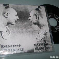 Discos de vinilo: PARALISIS PERMANENTE + GABINETE CALIGARI .. EP - TRES CIPRESES - PROMOCIONAL ULTIMA EDICION WARNER. Lote 221733170