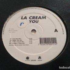 Discos de vinilo: LA CREAM - YOU. Lote 221733906