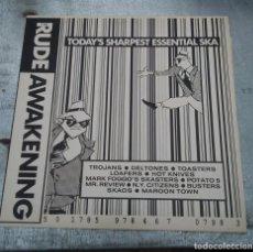 Discos de vinilo: DISCO DE VINILO RUDE AWAKENING TODAY´S SHARPEST ESSENTIAL SKA 1989. Lote 221739388