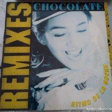 Discos de vinilo: DISCO DE VINILO REMIXES CHOCOLATE 1990. Lote 221739855