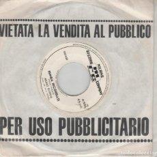 Discos de vinilo: 45 GIRI BRUNO FILIPPINI SABATO SERA /BIMBA RICORDATI ED PROMO LABEL BIANCA ITALY MRC. Lote 221740410