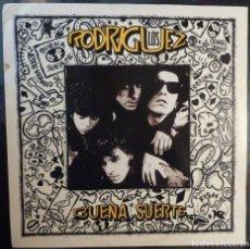 Discos de vinilo: LOS RODRIGUEZ // BUENA SUERTE // ENCARTE // 1991 // (VG VG). LP. Lote 221741670