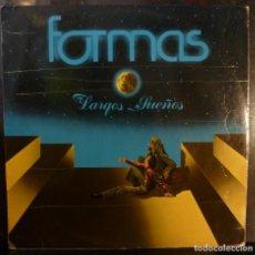 Discos de vinilo: FORMAS // LARGOS SUEÑOS // 1981 //(VG VG). LP. Lote 221741711