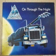 Discos de vinilo: DISCO VINILO DEF LEPPARD-ON THROUGH THE NIGHT.. Lote 221741735
