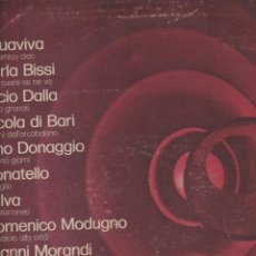 Discos de vinilo: LP COMPILAZIONE SANREMO 72 RICORDI VG---VG---- COVER SCIUPATA VINILE DANNEGGIATO. Lote 221744645