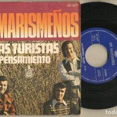 Discos de vinilo: SINGLE.VINILO. LOS MARISMEÑOS. LAS TURISTAS. HISPAVOX 45 - 1077. (P/C61). Lote 221744928