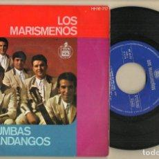 Discos de vinilo: SINGLE.VINILO. LOS MARISMEÑOS. RUMBAS / FANDANGOS. HISPAVOX. HH16 - 717. (P/C61). Lote 221745022