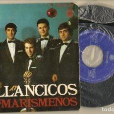 Discos de vinilo: SINGLE.VINILO. LOS MARISMEÑOS. VILLANCICOS. HISPAVOX. HH16 - 707. (P/C61). Lote 221745100
