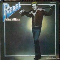 Discos de vinilo: JOHN MILES - REBEL - EDICIÓN ESPAÑOLA 1976. Lote 221745210